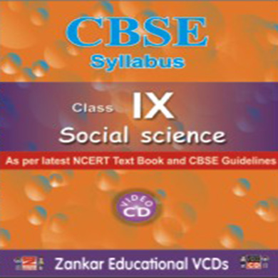 Ninth Standard Social Science CBSE