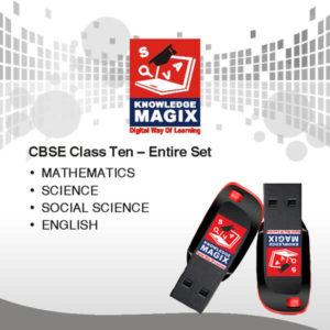 CBSE tenth standard pen drive
